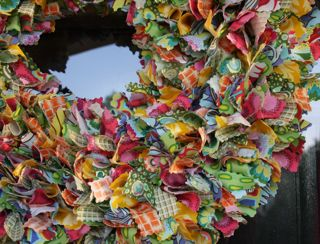 Closeup wreath